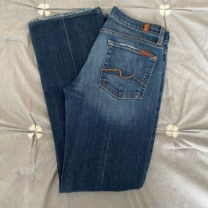 7 for all mankind bootcut women's jeans